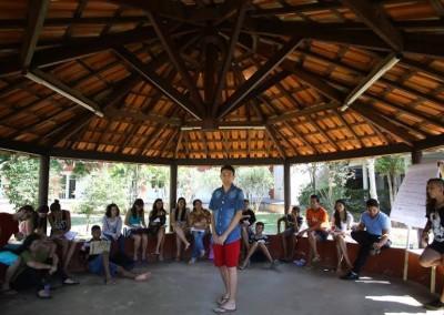 Oficina de formação de adolescentes do G38