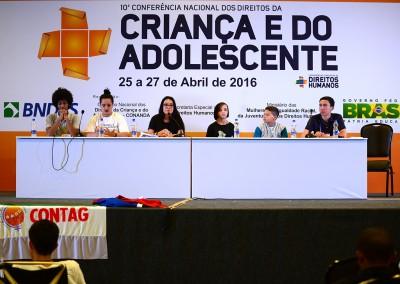 Mesa A participação enquanto direito humano de crianças e adolescentes